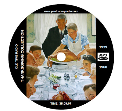 Thanksgiving Collection (82 Shows) Old Time Radio Mp3 Cd