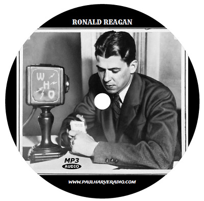 Ronald Reagan Collection (15 Shows) Old Time Radio Mp3 Cd