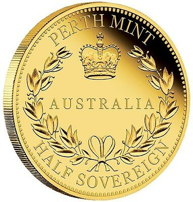 2017 $15 Australian Half Sovereign Gold Proof Coin - Perth Mint
