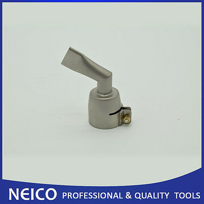 20mm 60 Degree Angled Wide Slot Weld Nozzle For Traic S Hot Air Gun
