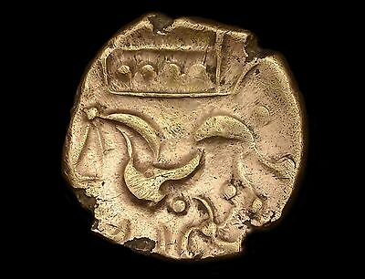 Celtic Coinage, Early Uninscribed Domino Type Gold Stater