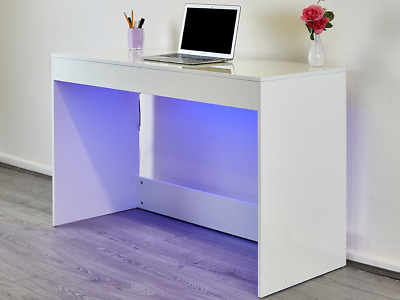 Modern White Grey High Gloss Console Table Hallway Dressing Table Home Furniture