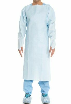10 Patient Hospital Medical Exam Gowns XXL Halyard 69603 Single Use Disposable
