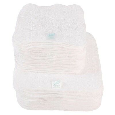 Terry Cotton Baby Wipes (Natural)