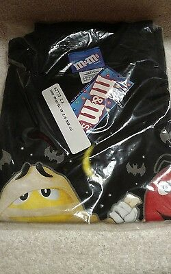 M&M's Black Wrapped Up T- Shirt Size Large