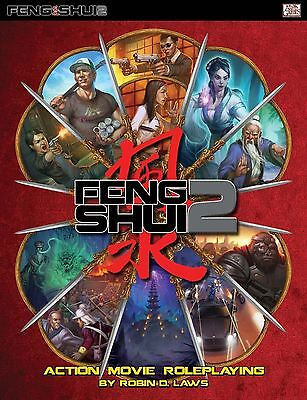 Feng Shui 2Nd Edition - Rpg Core Hardcover Book