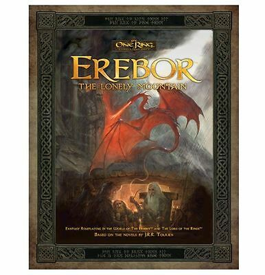 The One Ring Rpg Erebor - The Lonely To The Mountain - Book