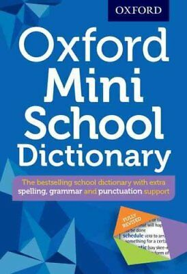 Oxford Mini School Dictionary 2016 by Oxford Dictionaries 9780192747082