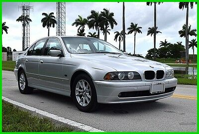 2003 BMW 5-Series iA 2003 iA Used 2.5L I6 24V Automatic RWD Sedan Premium