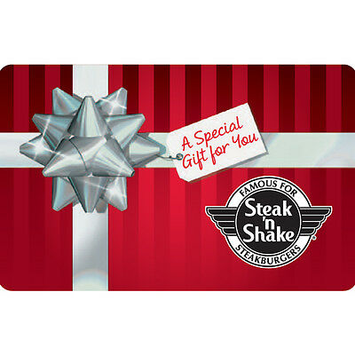 $25 Steak 'n Shake Gift Card - Mail Delivery