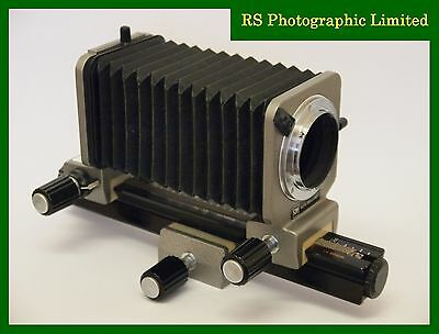 Olympus OM Auto Bellows unit for macro Photography, stock No U7613
