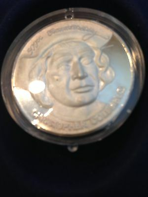 The 500th Anniversary Of Christopher Columbus .999 Silver Medallion