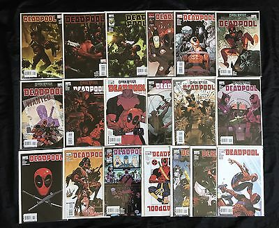 Deadpool #1-36 (2008) High Grade Consecutive Set Incl 33.1 19 1St App Hit Monkey