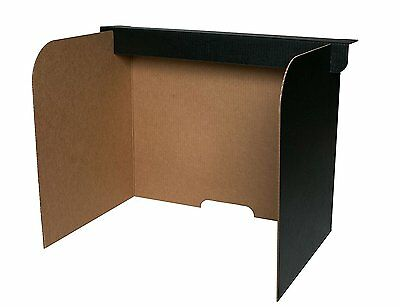 Flipside Products 61855 Desktop Privacy Screen, Large Pack of 24