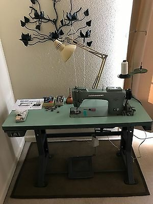 Vintage Industrial Sewing Machine, Consew 220 Model