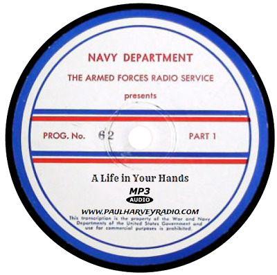 A Life In Your Hands (15 Shows) Old Time Radio Mp3 Cd