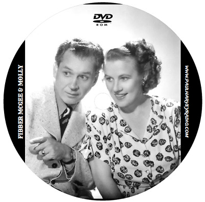 Fibber Mcgee & Molly (680 Shows) Old Time Radio Mp3 Dvd