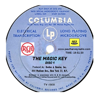 Magic Key (72 Shows) Old Time Radio Mp3 5-Cd's
