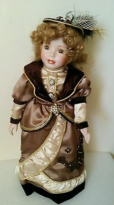 """Beautiful  Porcelain  Doll From The  Victorian  Era 16"""""""