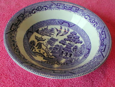 """Ridgway (Willow Blue) 6"""" CEREAL BOWL(s)  Diamond Mark (2 avail)"""