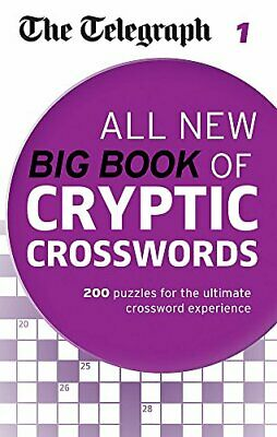 The Telegraph: All New Big Book of Cryptic Crosswords 1 (The... by THE TELEGRAPH
