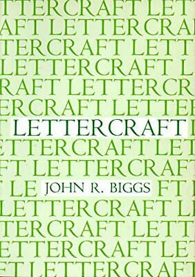 Lettercraft by Biggs, John R. Paperback Book The Cheap Fast Free Post
