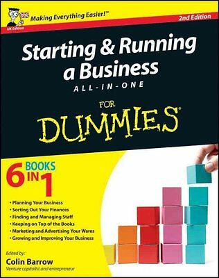 Starting and Running a Business All-in-One For Dummies 9781119975274
