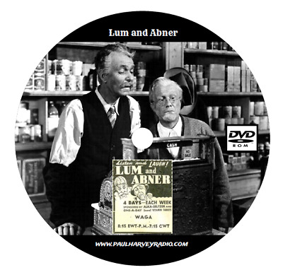 Lum And Abner (1,652 Shows) Otr Mp3 2 Dvd's