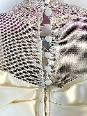 Susan Lanes Country Elegance vintage-look lace wedding gown Ivory 12