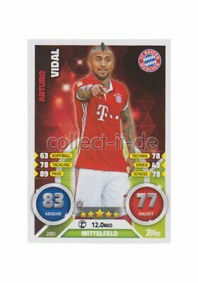 Match Attax 16/17 2017 - 280 - Arturo Vidal