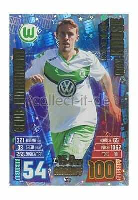 Match Attax 15/16 - 378 - Max KRUSE - Club-Einhundert