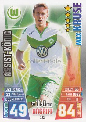 Match Attax 15/16 - 323 - Max KRUSE - Assist-König