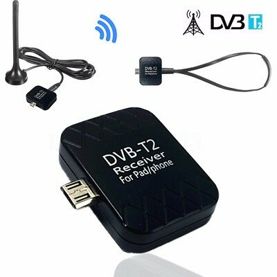 Micro USB DVB-T2/T Digitale TV Tuner Ricevitore H.264 Per Android 6.0 Table PC