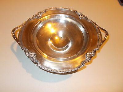 """Vtg Sheets Rockford Silver Plated Compote Footed Bowl Antique Large 12"""""""