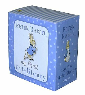 Peter Rabbit My First Little Library PR Baby Books Words Numbers Shapes Colors