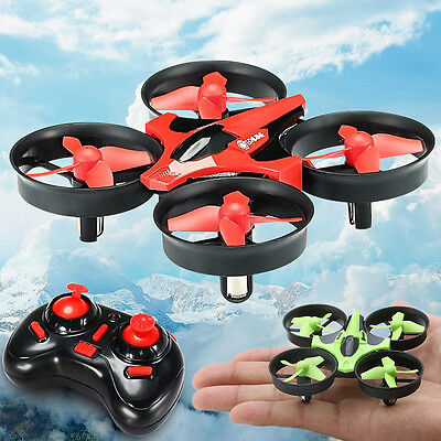 Eachine E010 Mini 2.4G 4CH 6 Axis Headless Mode RC Quadcopter RTF With USB Cable