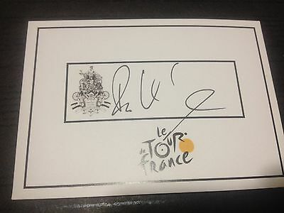 Roger Kluge SIGNED Tour de France cycling card. racing, bike, Germany. Olympics