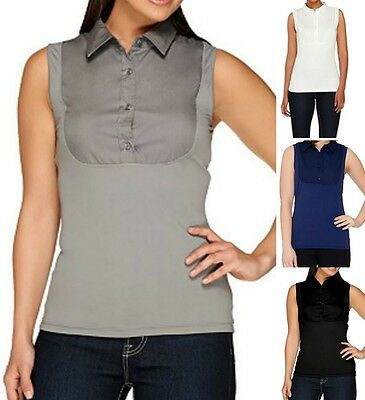 Kathleen Kirkwood~Dictrac-Ease Classic Collar Camisole~A265670