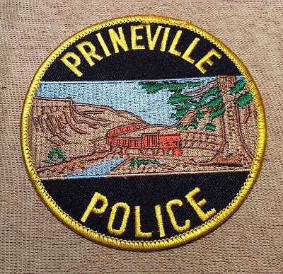 OR Prineville Oregon Police Patch