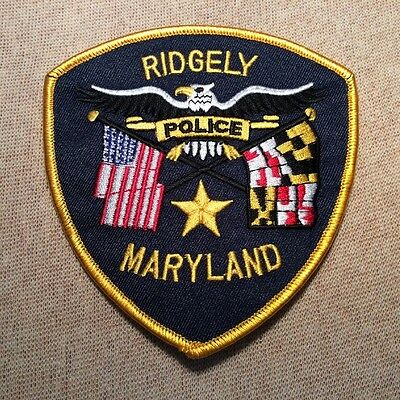MD Ridgely Maryland Police Patch