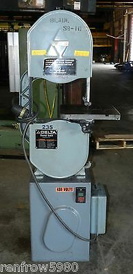 "Delta 28-303F 14"" Metal/Wood Vertical Band Saw 3/4HP"