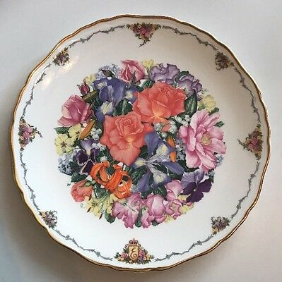 Royal Albert Decorative Plate - Finale By Sara Anne Schofield