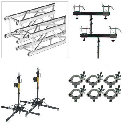 Global Truss ST-157 Value Package 2 Lifts 13ft of Truss 6 Clamps 2 Adaptors