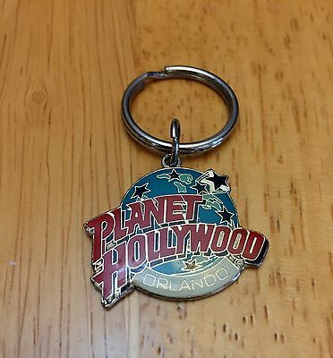 Planet Hollywood Orlando Keychain Downtown Disney Key Ring