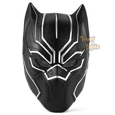 NEW BLACK PANTHER Movie Mask Helmet! Authentic Replica! Be Black Panther!