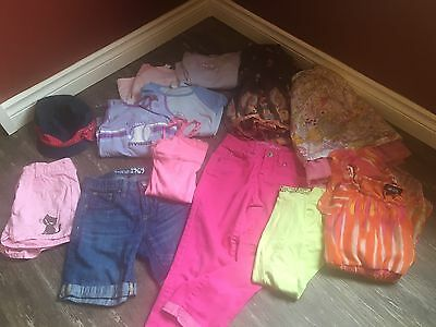 Girls size 10-12 mixed 14 piece LOT spring summer Justice Carters Gap