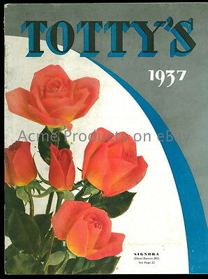 1937 Orig. GARDEN Catalog- FLOWERs & SHRUBs - Charles H Totty -Madison NJ- 48pg