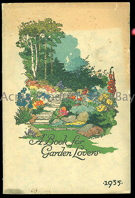1935 Orig. GARDEN Catalog-FLOWERs & VEGETABLEs- Schlings Seeds-New York NY-112pg