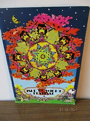1970 Isle of Wight  Psychedelic Authentic Festival Program excellent condition