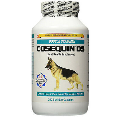 Nutramax COSEQUIN DS For Dogs Sprinkle Capsules Double-Strength 250 Count